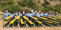 Ramechhap, Sundevi Sunkoshi Primary School Receives Furniture and Education Materials