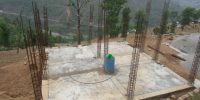 Shelter Construction in progress at Gyalthum