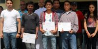 Certificate Distribution Program for Vocational Trainee