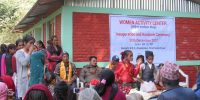 Inauguration and Handover of Women's Center at Sindhupalchowk
