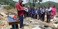 Foundation Laid for the Hostel for Speech and Hearing Impaired Children of Azad School