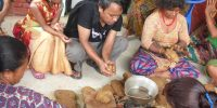 A Visually Impaired Person Leads the Production of 1700 Soaps, Jaretar, Kavre