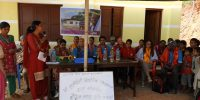 Inauguration of a new spacious residence for special children