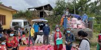 Covid-19 Relief: Reaching out with Food Materials to Different places for Victims and Needy people